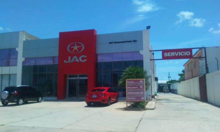 1IMGImagen Galería Jac Motors de Venezuela