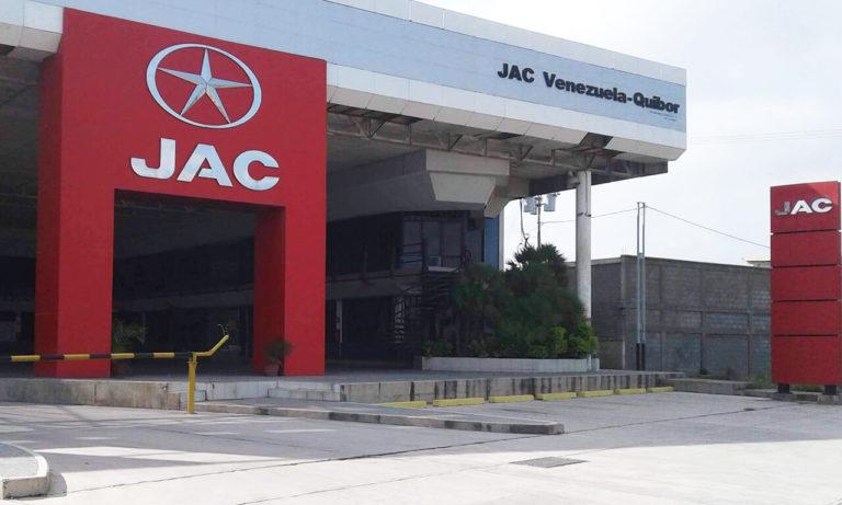 2IMGImagen Galería Jac Motors de Venezuela
